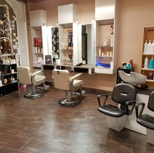 Intérieur Cel'in Coiffure Chambery
