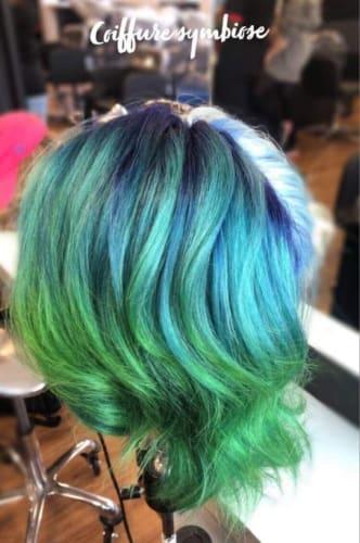Coloration Végétale Bleu/Vert