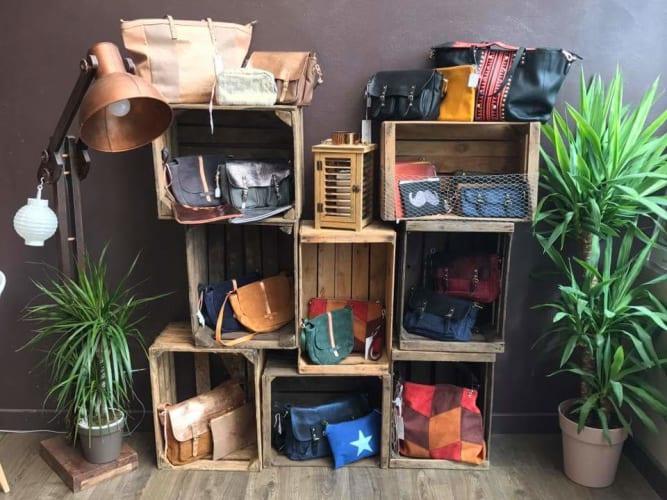 Le coin boutique avec différentes propositions d'idées cadeau