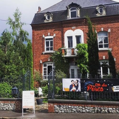 La devanture de l'institut Centre Esthétique et Spa Kathia