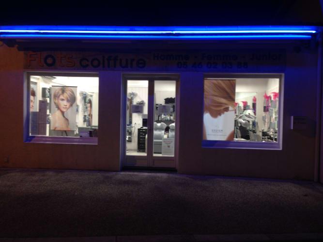 Salon de coiffure au Mathes