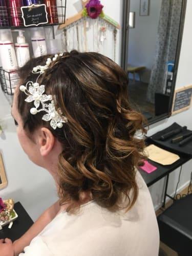 Chignon chez Elodie coiffure