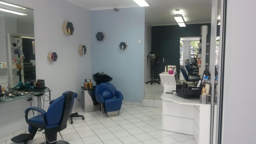Salon de coiffure Version Geraldine