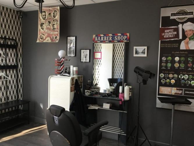 Espace de coiffure