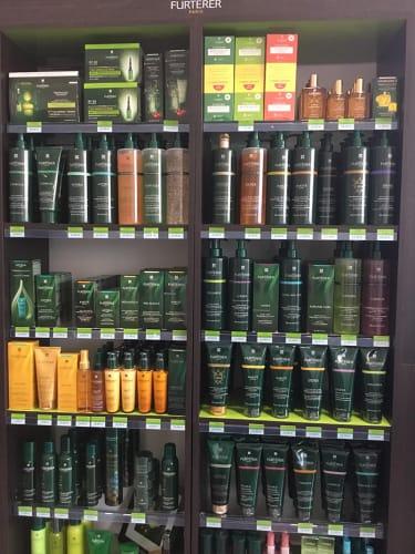 Les produits capillaires utilisés par nos coiffeurs coloristes