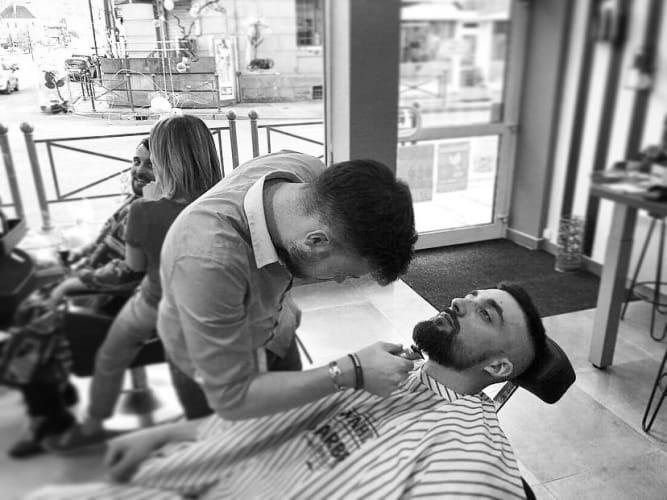 Barbier à RAON-L'ÉTAPE
