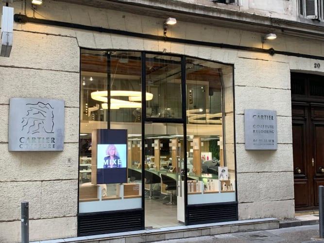 Le salon Cartier Coiffure Relooking : vue d'extérieur