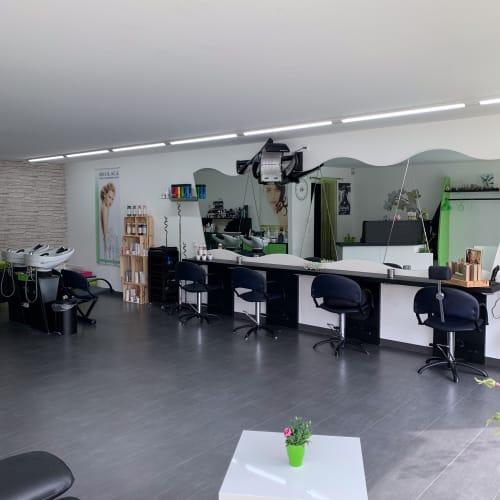 L'espace intérieur du salon Ambiance Zen Coiffure