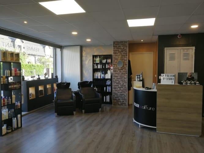 Le salon de coiffure mixte l'Atelier Coiffure à Courcelles-lès-Lens