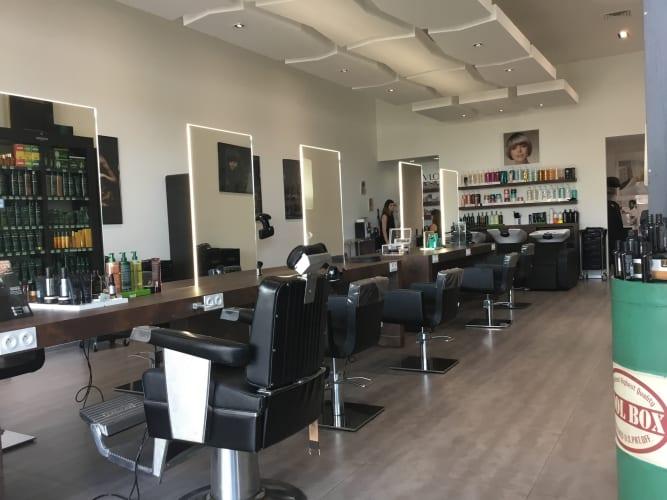 Le salon de coiffure mixte Studio 113 : un décor chic et raffiné
