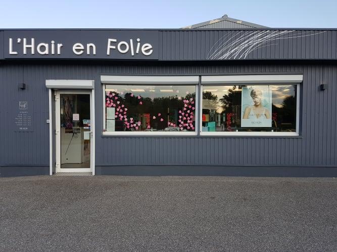 Salon de coiffure L'hair en folie