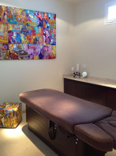 Salle de soin de l'institut de beauté à Saint-Jean-Cap-Ferrat