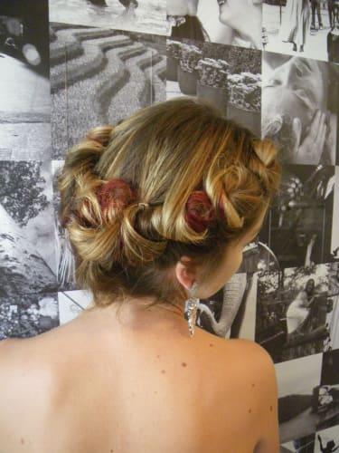 Coiffage pour évènement spécial par SR coiffure Aix
