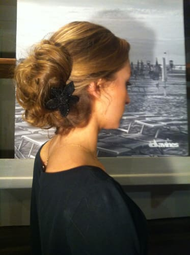 Une réalisation du salon SR coiffure