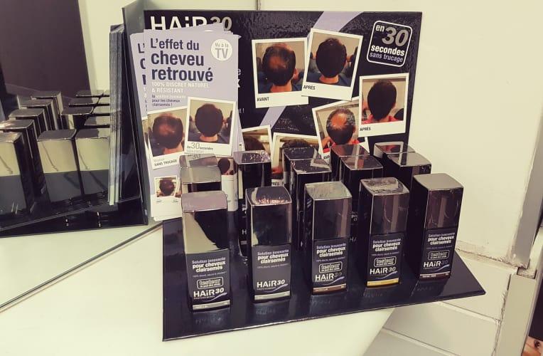 solution innovante pour cheveux clairsemés