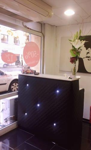 accueil du salon de coiffure Fontange à Aix-en-provence