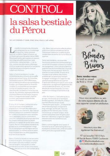 article les blondes et les brunes salon de coiffure à Paris 15ème arrondissement