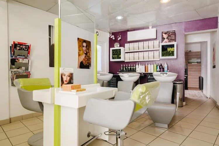 L'espace coiffure du salon Tendance nature