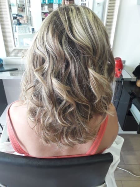 Tendance Shimmer Plays Coiffure