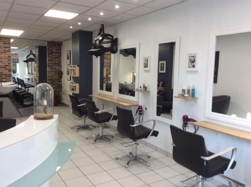 Salon de coiffure à Belleville