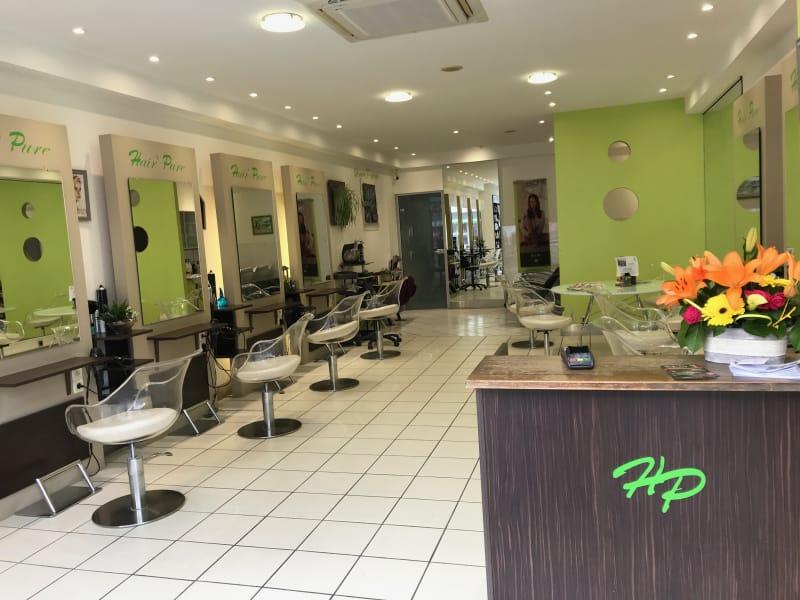 intériuer du salon de coiffure Hair pur bien-être à Dijon 21