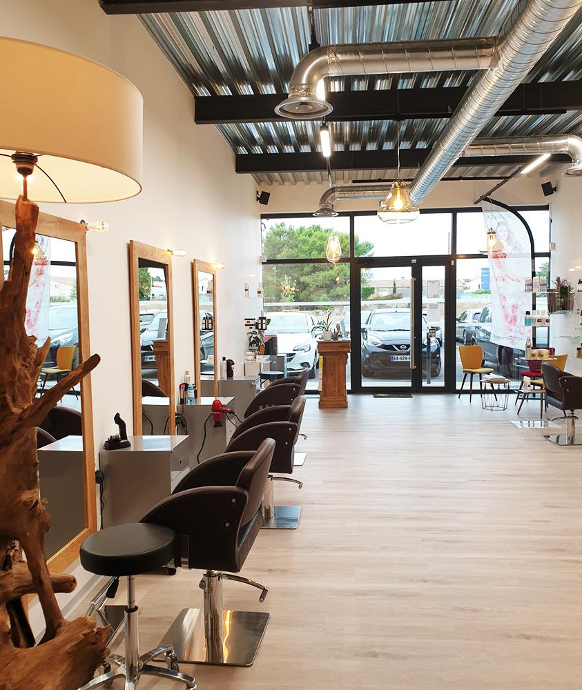 Salon de coiffure à Pignan