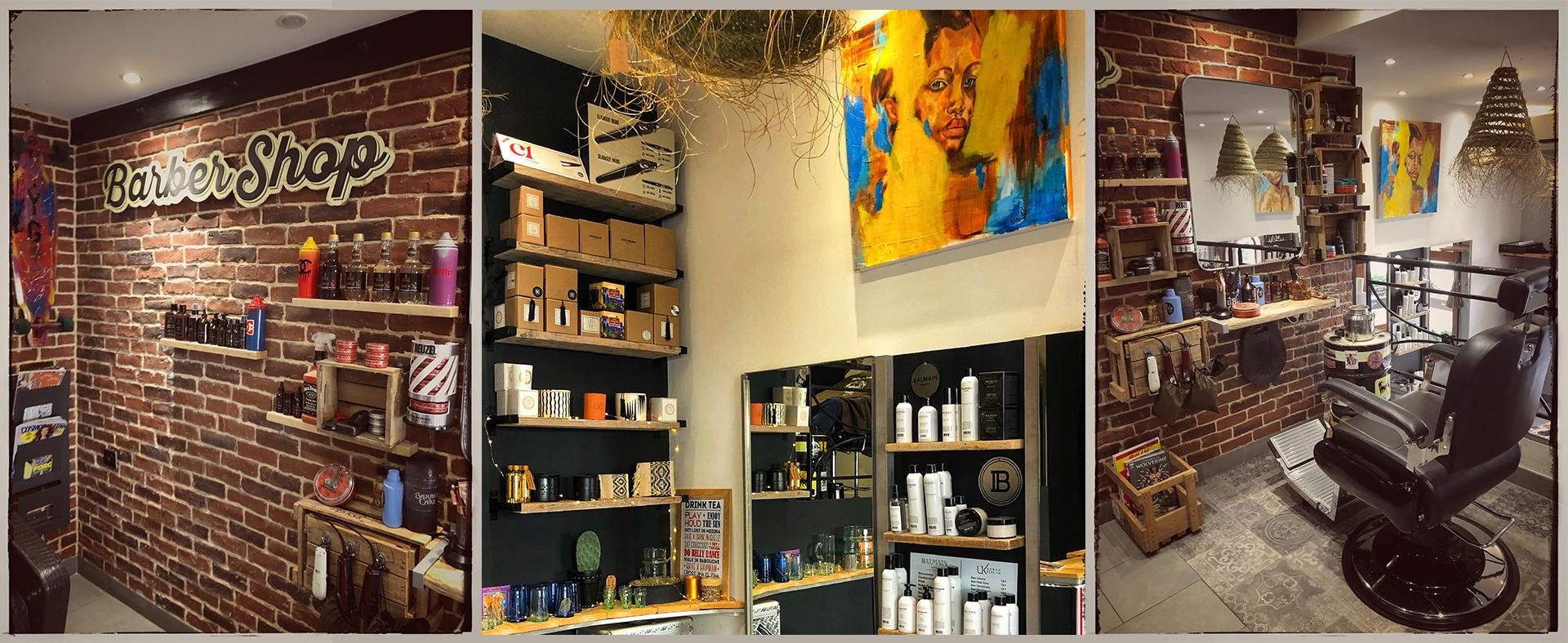 Salon de coiffure à Sainte-Maxime