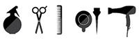 Salon de coiffure à Antibes