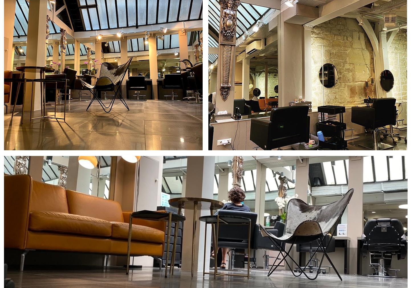 Salon de coiffure mixte à Saint-Germain-des-Prés à Paris