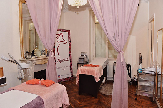 Salon de beauté à Paris