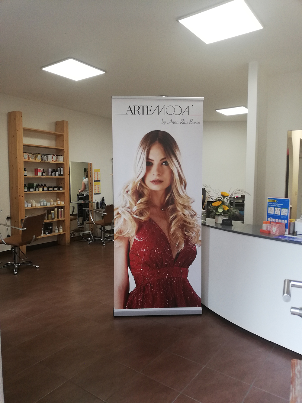 Salon de coiffure à St-Aubin-Sauges