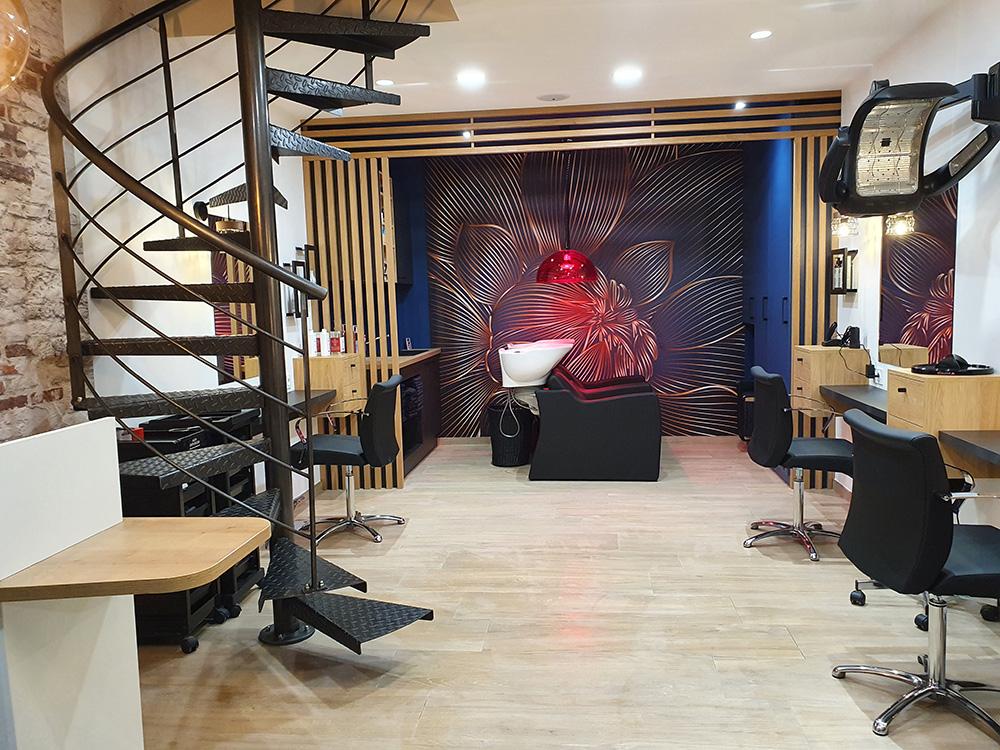 Salon de coiffure à Villevêque