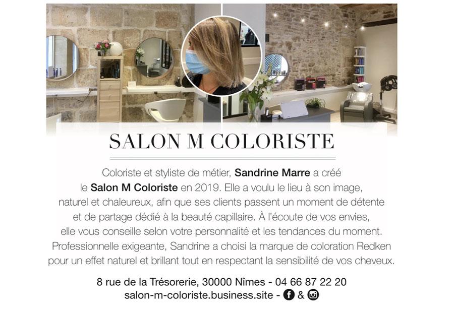 Salon M Coloriste à Nîmes