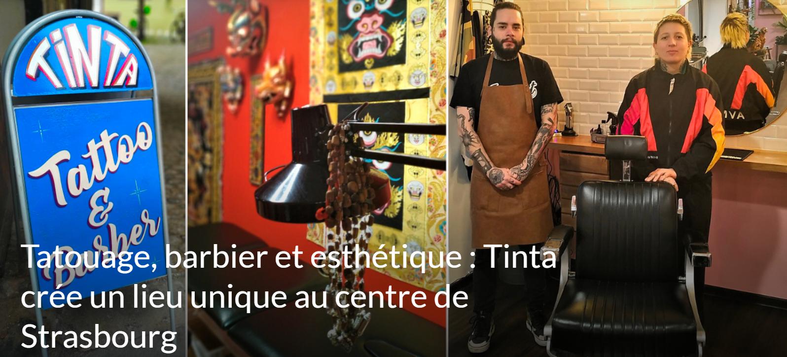 barber & tattoo shop à Strasbourg