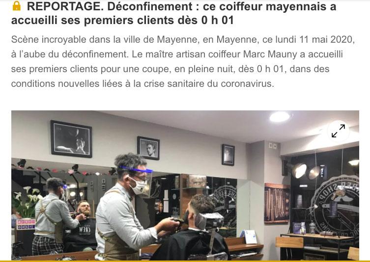 Salon de coiffure mixte à Mayenne - (53100)