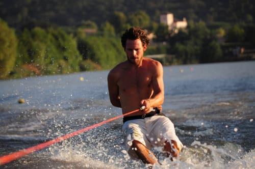 Tour de ski nautique figure