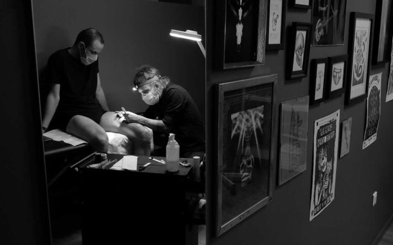 barber & tattoo shop à Strasbourg