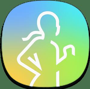 Samsung Health logo.