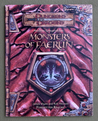 Image for Monster Compendium: Monsters of Faerun (Dungeon & Dragons d20 3.5 Forgotten Realms  Roleplaying)