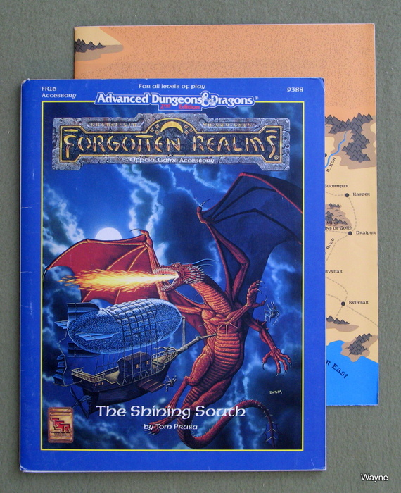 Image for The Shining South (Advanced Dungeons & Dragons, 2nd Edition/Forgotten Realms, FR16)