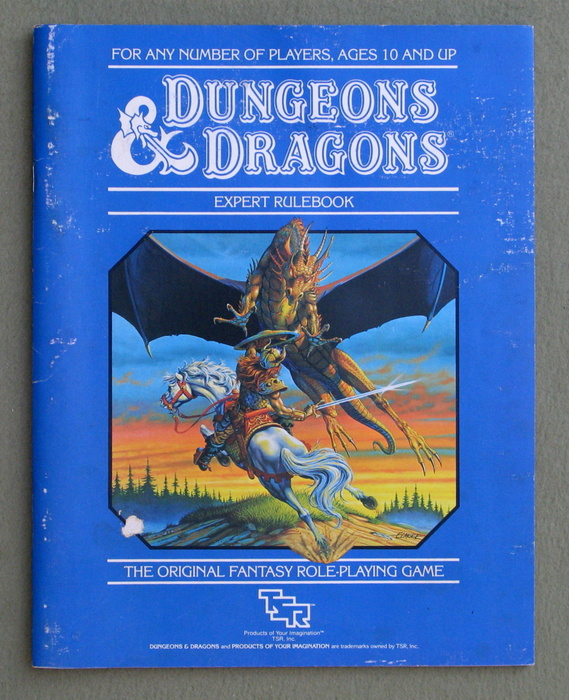 Image for Dungeons & Dragons Expert Rulebook (Revised) - PLAY COPY