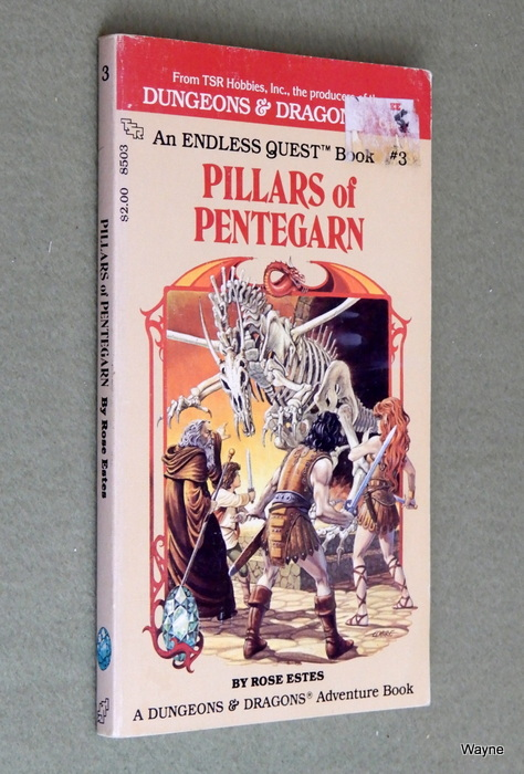Image for Pillars of Pentegarn (Endless Quest Book 3: Dungeons & Dragons)