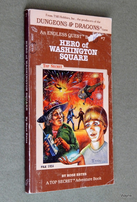 Image for Hero of Washington Square (Endless Quest Book 7: Top Secret)