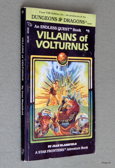 Image for Villains of Volturnus (Endless Quest Book 8: Star Frontiers) - READING COPY