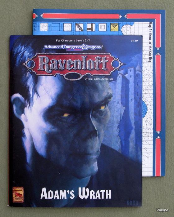 Image for Adam's Wrath (Advanced Dungeons & Dragons: Ravenloft Adventure)