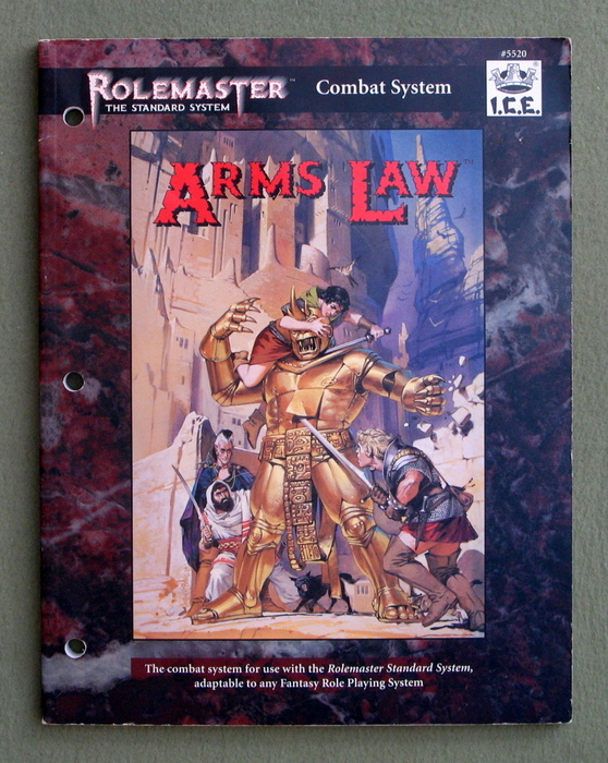 Image for Arms Law (Rolemaster Standard System)
