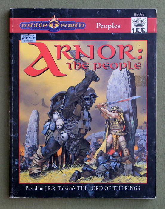 Image for Arnor: The People (Middle Earth Role Playing: MERP)