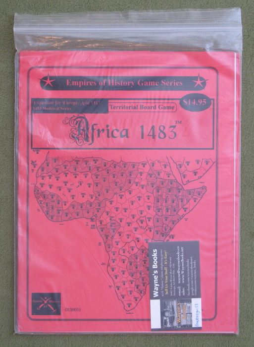 Image for Africa 1483 Expansion for Europe / Asia 1483 Territorial Board Game
