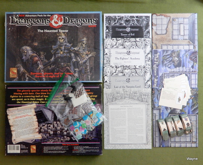Image for The Haunted Tower (Dungeons and Dragons Adventure Pack) - PLAY SET
