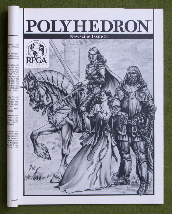 Image for Polyhedron Magazine, Issue 33